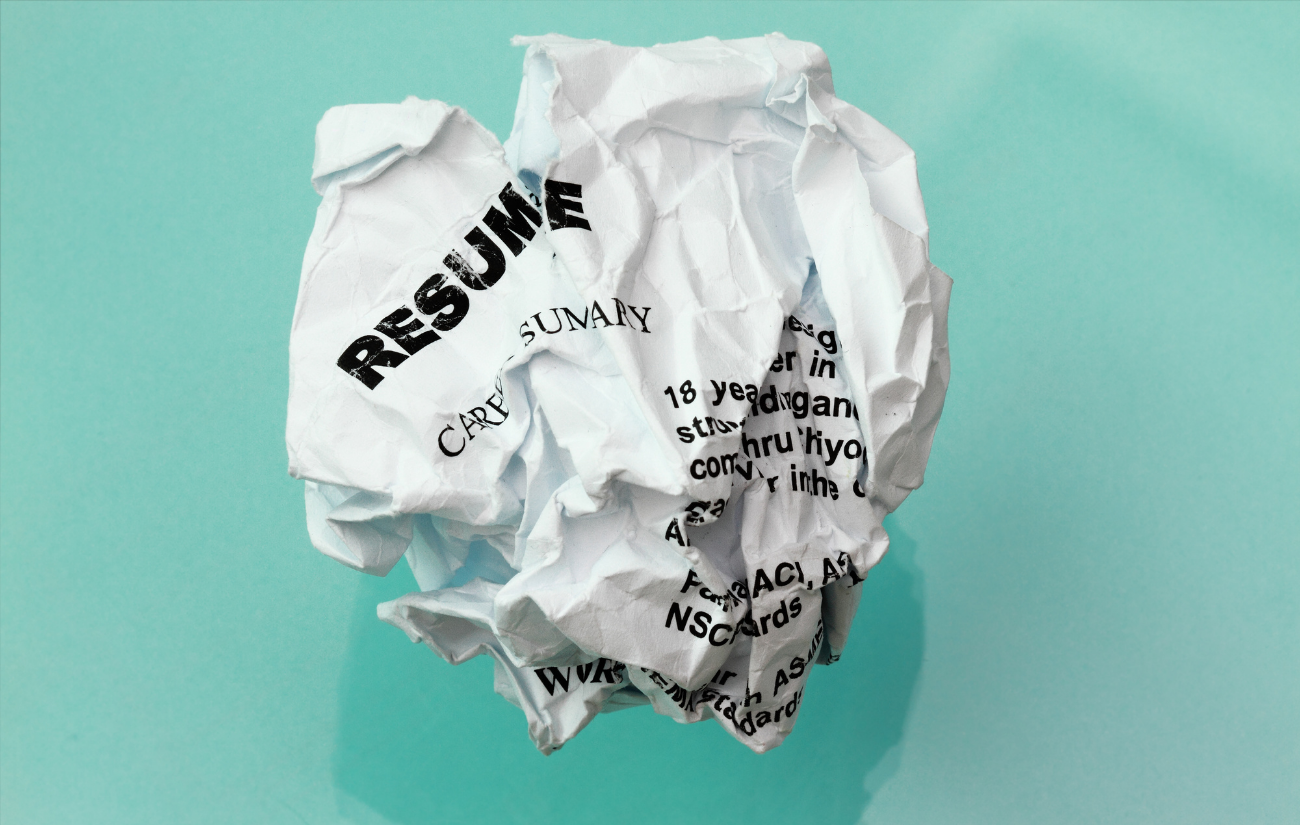 Why Do Fancy Resumes End Up in the Trash?